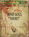 WHO GOES THERE? 米国秘密工作マニュアル us-covert-operations-manual 雑誌 fallout4 フォールアウト4 攻略